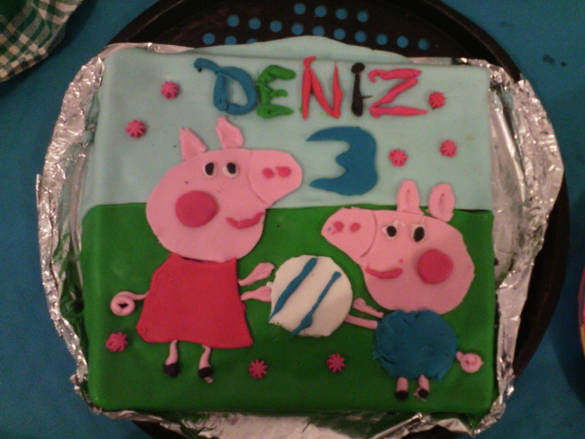 Gateau peppa pig 1